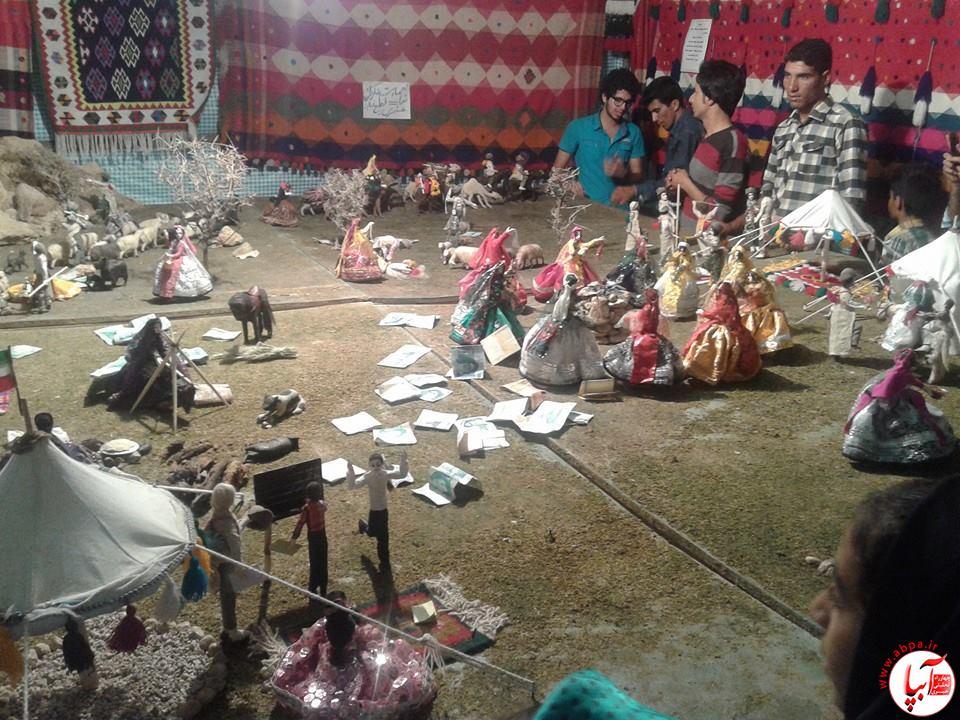 10641020_1549776245250774_8272925244033369227_n نمایشگاه زندگی عشایری در فیروزآباد