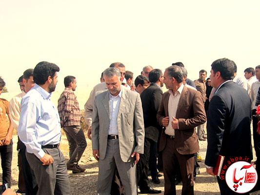 افتتاح جاده دسترسی به مزارع به طول دو کیلومتر در دهستان دژگاه