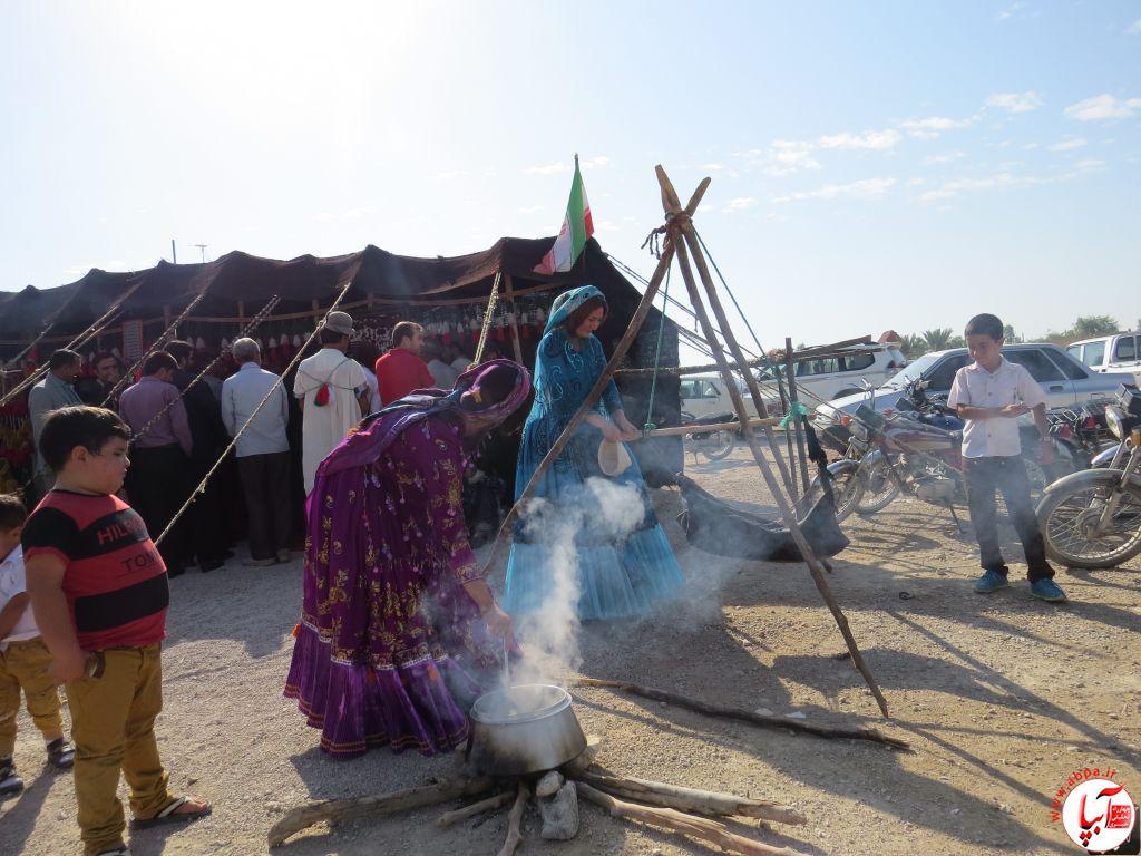 گزارش تصویری از جشن شکرگزاری قصب و خرما فراشبند |سری اول