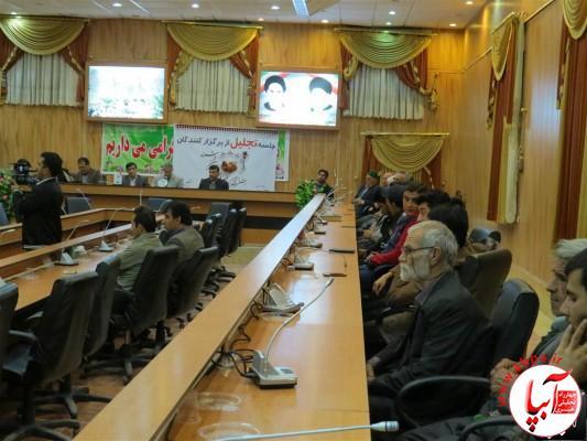 IMG_3711-Medium-e1417198217588 تجلیل از برگزارکنندگان جشن قصب و خرما در فرمانداری فراشبند