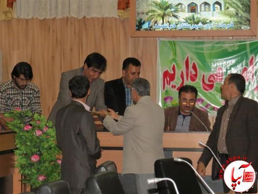 IMG_3741-Medium-e1417197927546 تجلیل از برگزارکنندگان جشن قصب و خرما در فرمانداری فراشبند