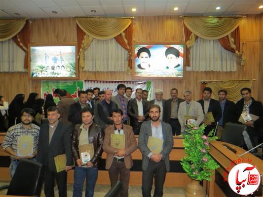 IMG_3767-Medium-e1417197773981 تجلیل از برگزارکنندگان جشن قصب و خرما در فرمانداری فراشبند