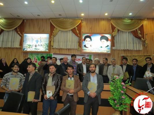 IMG_3768-Medium-e1417197755106 تجلیل از برگزارکنندگان جشن قصب و خرما در فرمانداری فراشبند