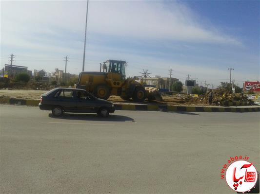 میدان-شهرداری-فراشبند-2 میدان یا فلکه