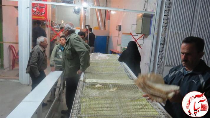 IMG_5995-Medium-e1420055410992 انتخاب نانوایی نمونه توسط اتاق اصناف در شهرستان فراشبند