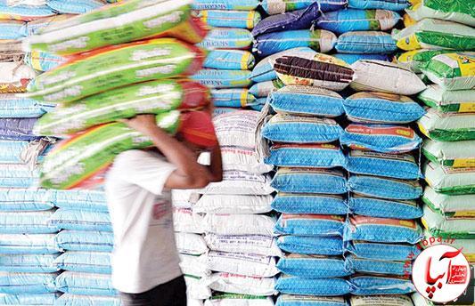 توقیف محموله برنج قاچاق در فراشبند