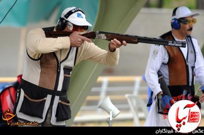 400_893389_134 مسابقات تیراندازی اهداف پروازی استان فارس در قیروکارزین برگزار می شود