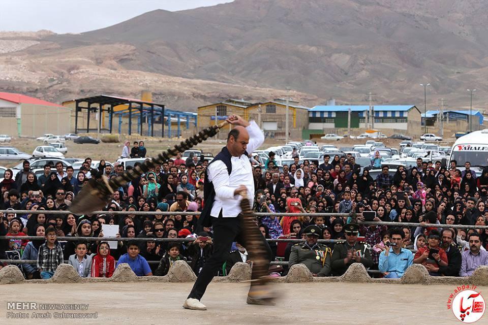 برگزاری آیین سنتی بیلگردانی در نیمور محلات