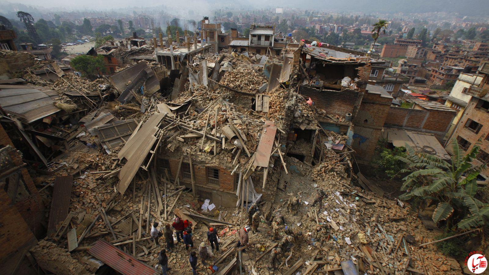 دلایل زمین لرزه نپال