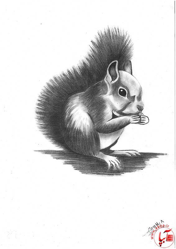 نقاشی خانم راضیه میرقدر هنرمند ناشنوا