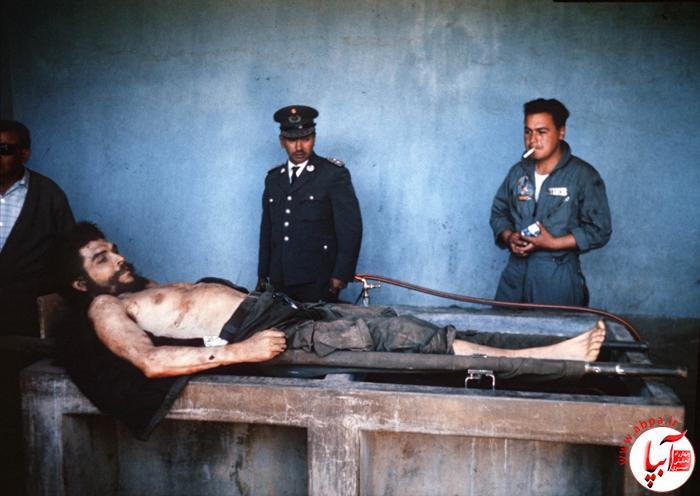 عکس از جسد چهگوارا