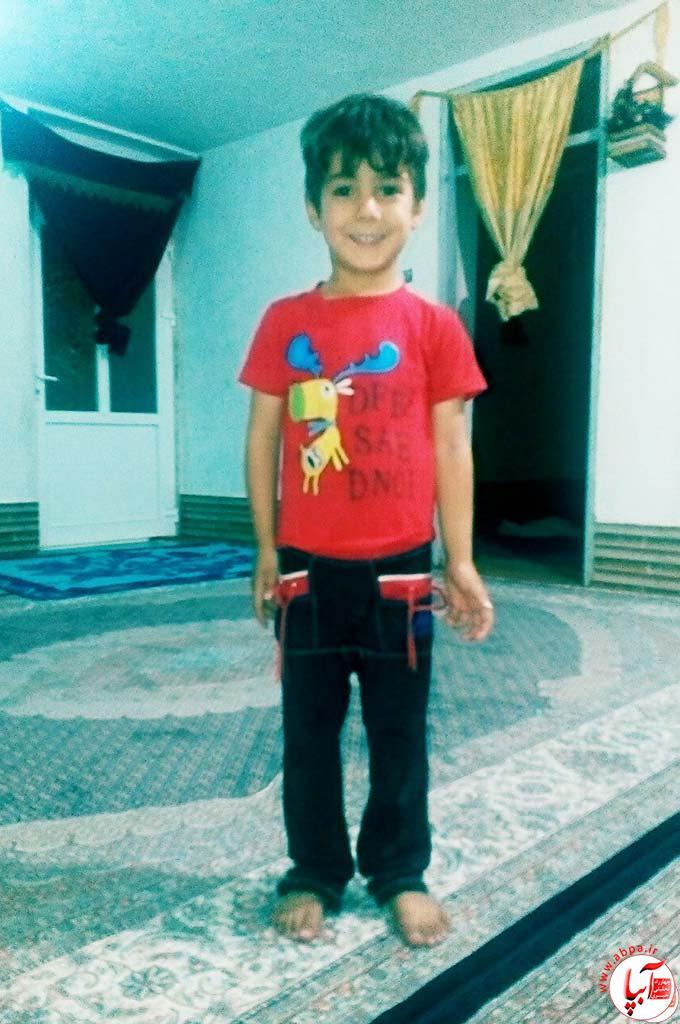 امیرحسین علی پور 4 ساله