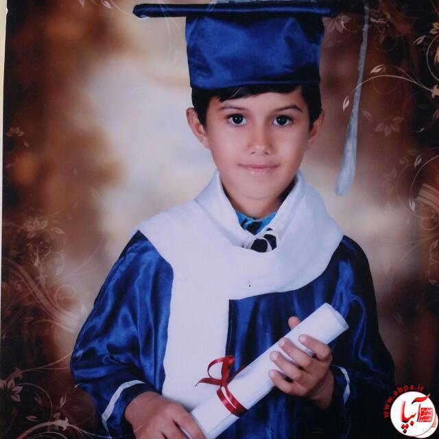 علی اصغر قاسمیان 6 ساله