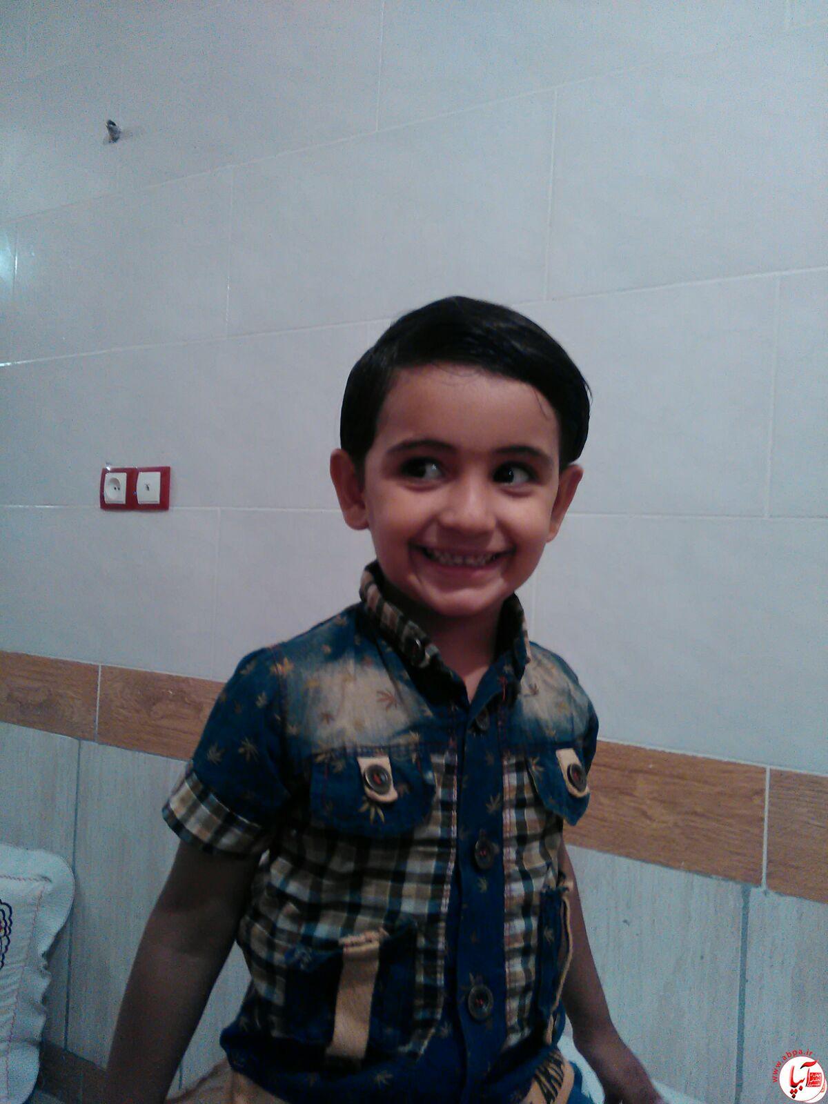 محمد حسین انصاری 4 ساله