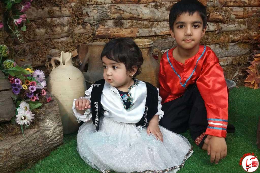 محمد و محیا کرمی نژاد