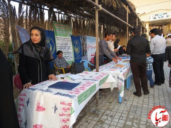 IMG_1534 گزارش تصویری از جشنواره قصب و خرمای فراشبند سری اول