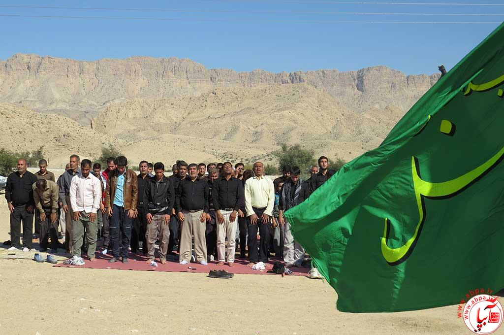 گزارش تصویری از پیاده روی جاماندگان اربعین حسینی(ع) در فراشبند (۲)