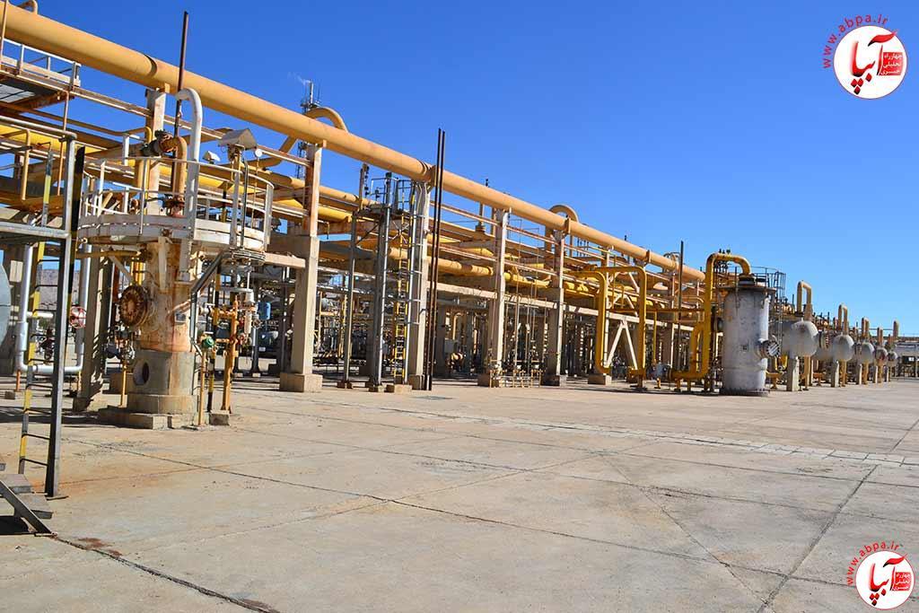 پالایشگاه-فراشبند ارسال گاز فلر برای تامین سوخت پالایشگاه فراشبند