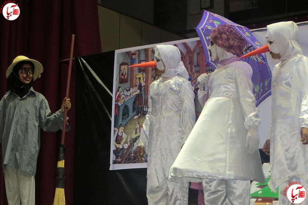 گزارش تصویری از جشنواره سرود و تیاتر دانش اموزی شهرسان فراشبند