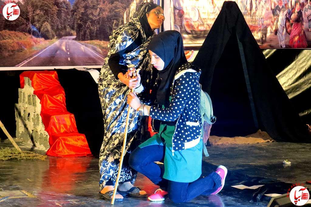 تئاتر-دانش-آموزی-فراشبند-17 گزارش تصویری از جشنواره سرود و تئاتر دانش آموزی شهرستان فراشبند