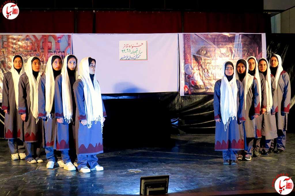 تئاتر-دانش-آموزی-فراشبند-22 گزارش تصویری از جشنواره سرود و تئاتر دانش آموزی شهرستان فراشبند