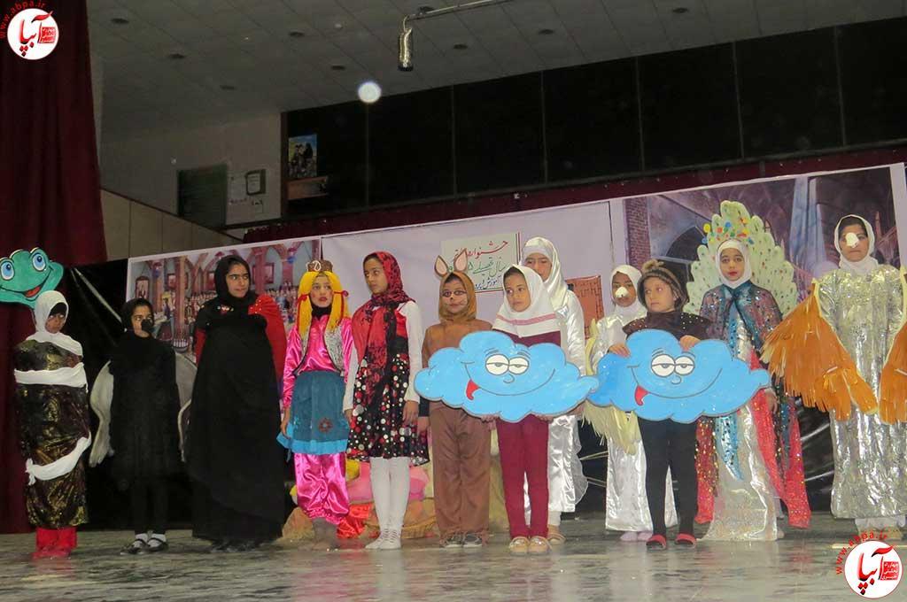تئاتر-دانش-آموزی-فراشبند-7 گزارش تصویری از جشنواره سرود و تئاتر دانش آموزی شهرستان فراشبند