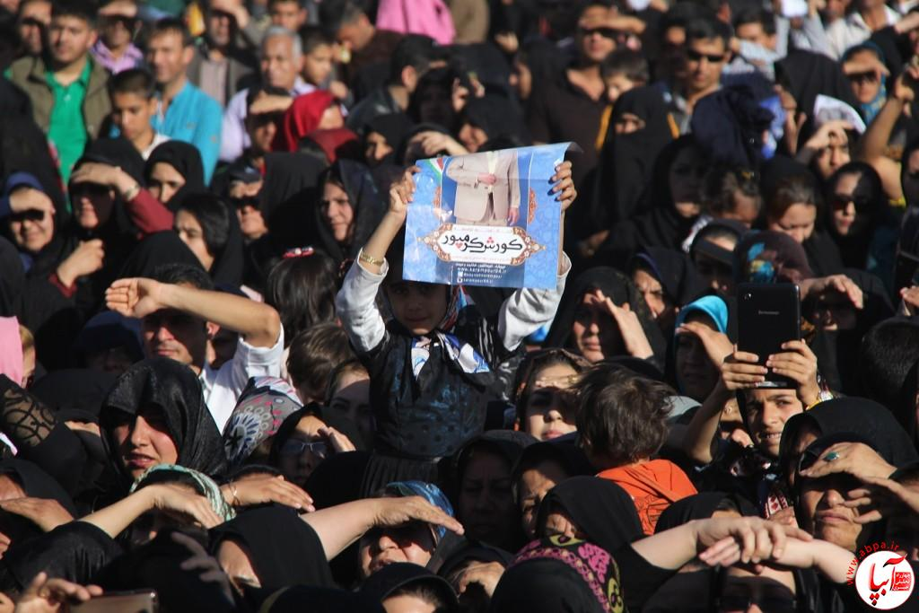 کورش-کرم-پور-7 تجمع با شکوه هواداران کورش کرم پور به شکرانه پیروزی