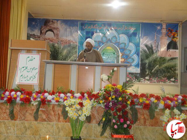 گزارش تصویری از افتتاح مسابقات قرآن دانش آموزی در فراشبند  (2)