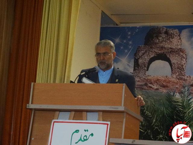 گزارش تصویری از افتتاح مسابقات قرآن دانش آموزی در فراشبند  (8)