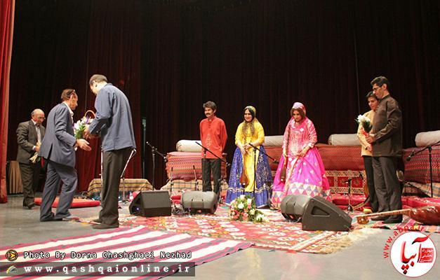 گزارش تصویری ازاجرای کنسرت گروه موسیقی استاد مسعود نامداری