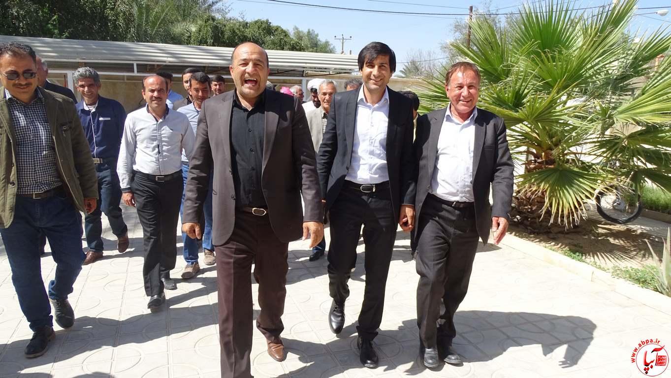 گزارش تصویری از سفر کورش کرمپور نماینده منتخب مردم به فراشبند