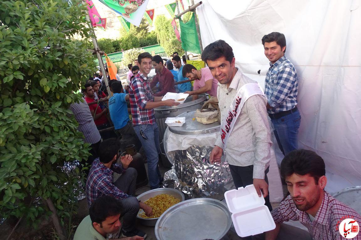 جشن خیابانی یاوران امام زمان (عج)/ تصویر- فراشبند
