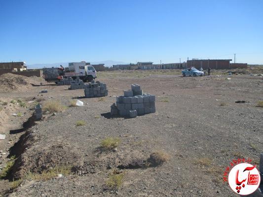 دهرم اراضی منابع طبیعی در منطقه احمد آباد دهرم رفع تصرف شد