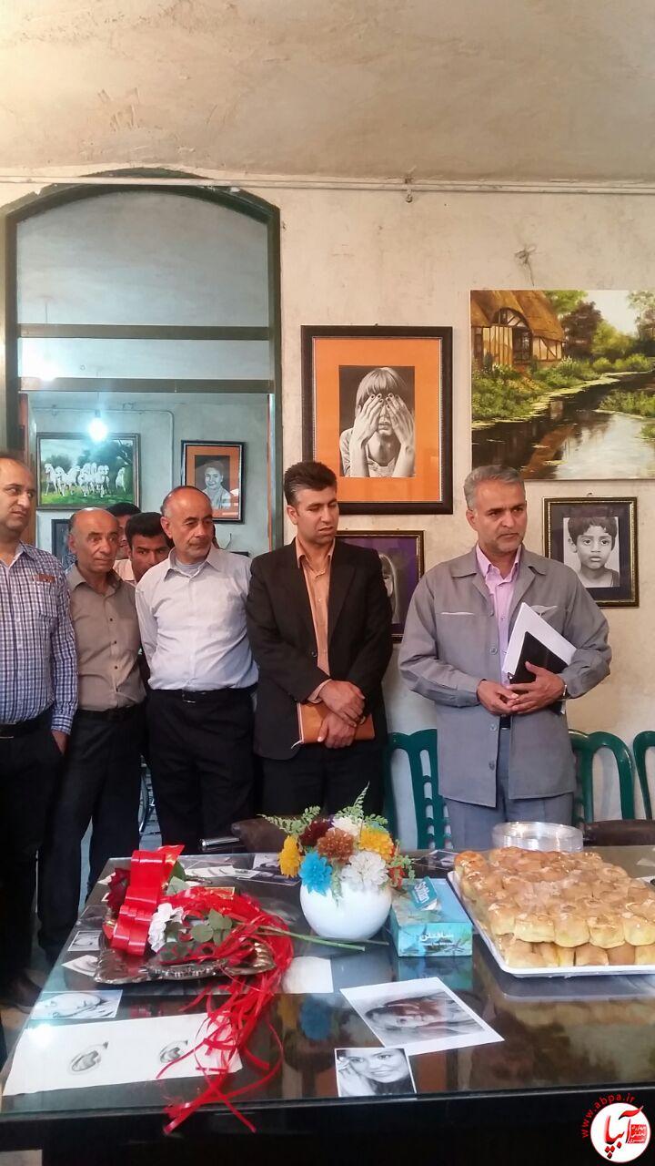 fdfsd افتتاحیه آموزشگاه هنرهای تجسمی
