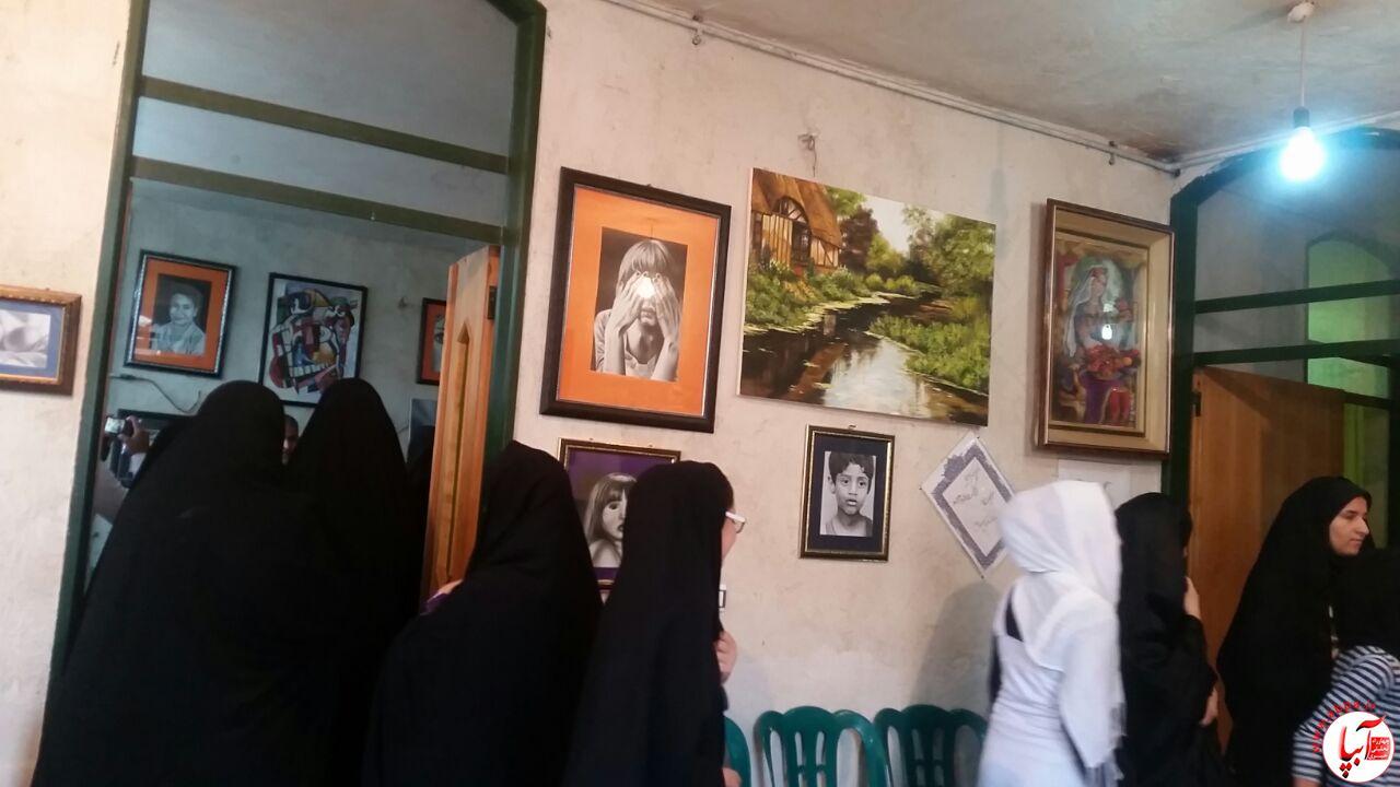 sdsdsd افتتاحیه آموزشگاه هنرهای تجسمی