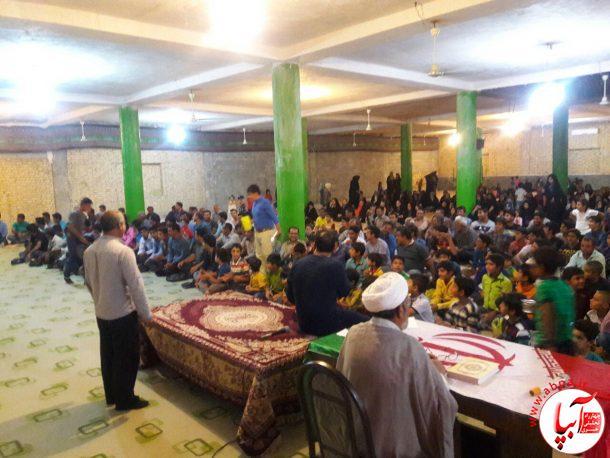 برگزاری مراسم جشن عید غدیر در دهرم