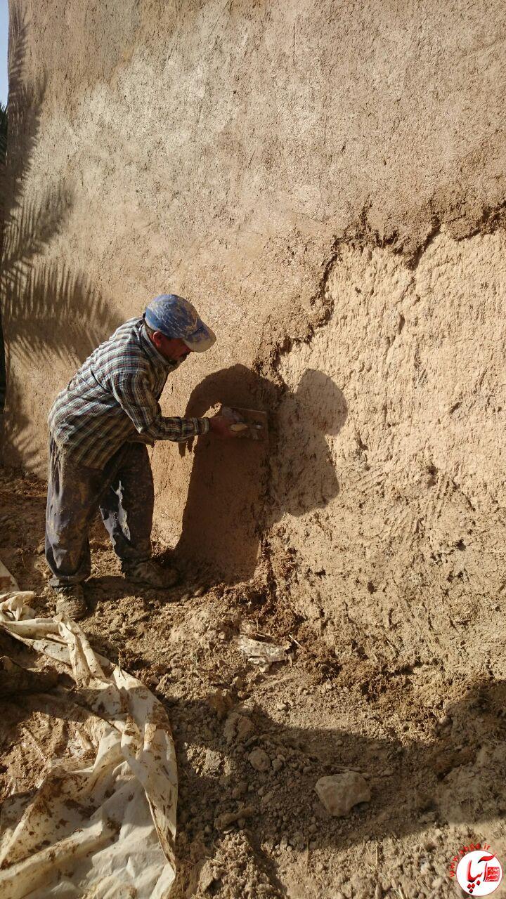 آبپا-میراث-2 استقبال ساکنان بافت قدیم شهرستان فراشبند از زمستان