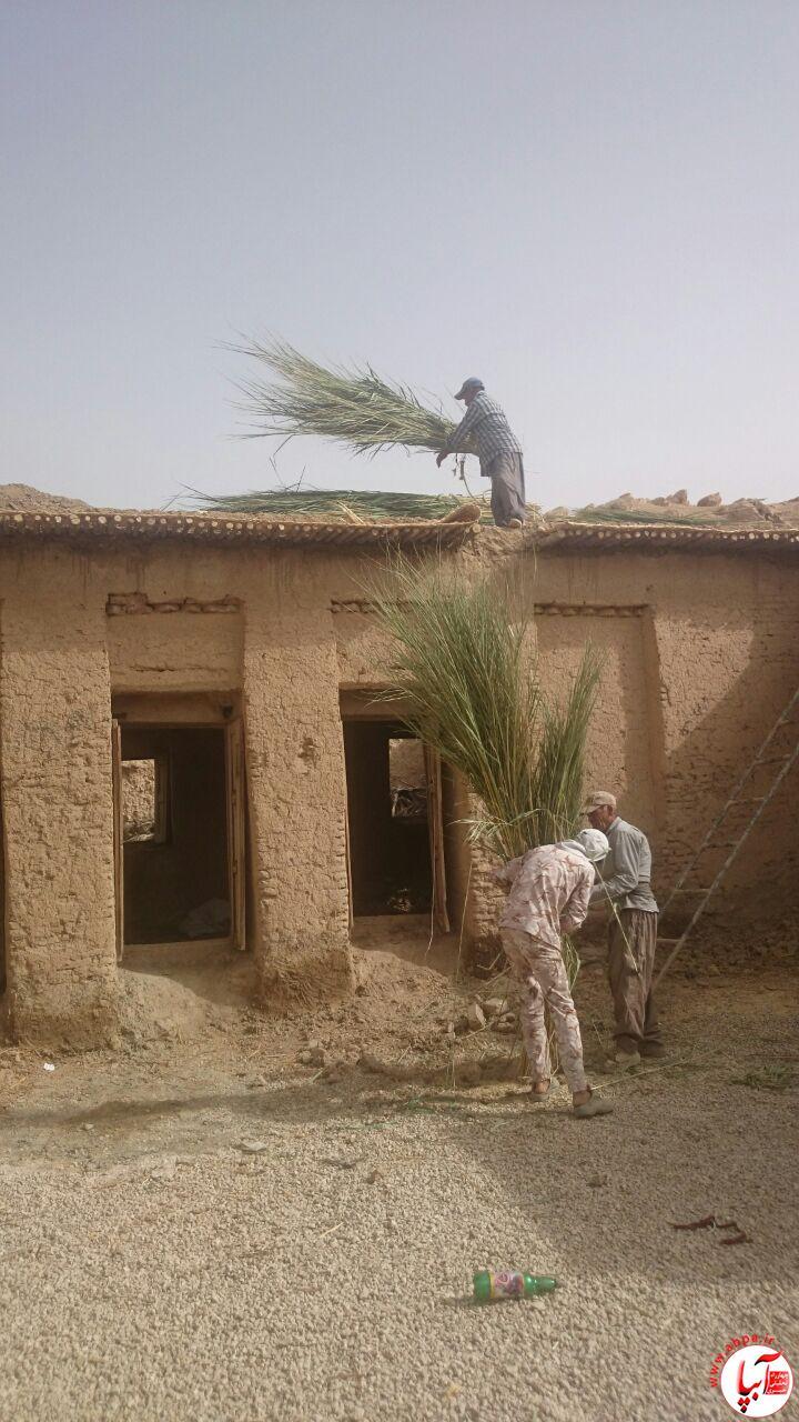 آبپا-میراث-3 استقبال ساکنان بافت قدیم شهرستان فراشبند از زمستان