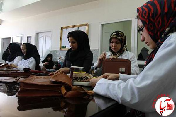 IMG01042230 برگزاری دوره آموزشی چرم دوزی در فراشبند