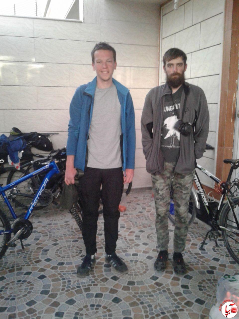 آبپا-توریست حضور دوچرخه سواران روسی در فراشبند
