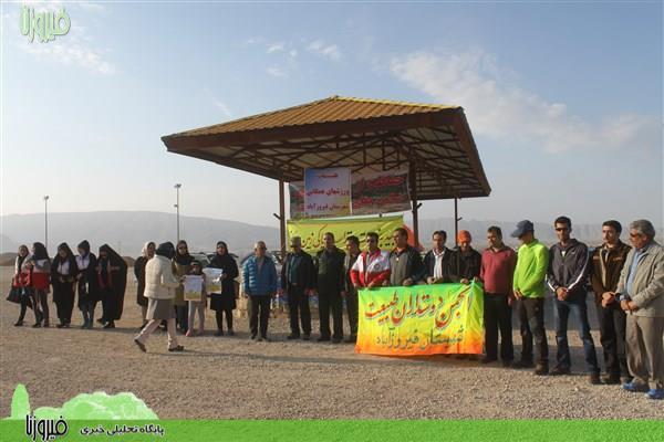 طرح ملی جنگلانه در فیروزآباد اجرا شد