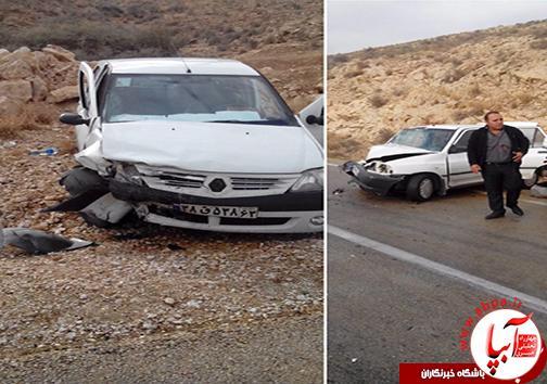 وقوع دو حادثه در کمتر از ۵ ساعت در محور فراشبند-بوشهر+تصویر