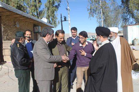 بازدید رئیس دانشگاه علوم پزشکی شیراز از دهکده گیاهان دارویی فیروزآباد
