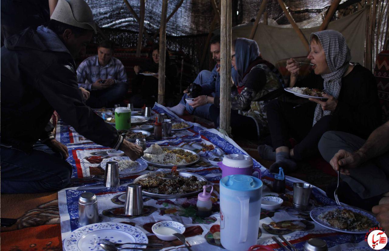 حضور هشتمین تور گردشگری اروپایی سه ماه اخیر در پایتخت چهارطاقی ها