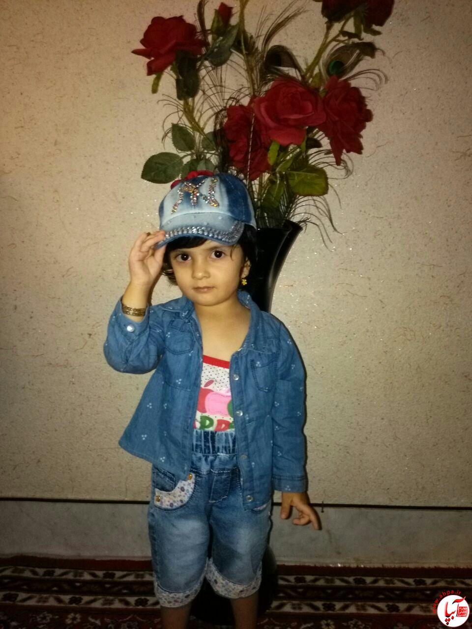 نیکا شمشیری 2 ساله میانرود شیراز
