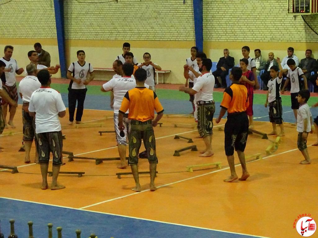 DSC07720 پیوند برادری فراشبندی ها و گراشی ها در ورزش باستانی