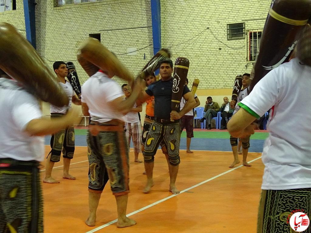 DSC07732 پیوند برادری فراشبندی ها و گراشی ها در ورزش باستانی