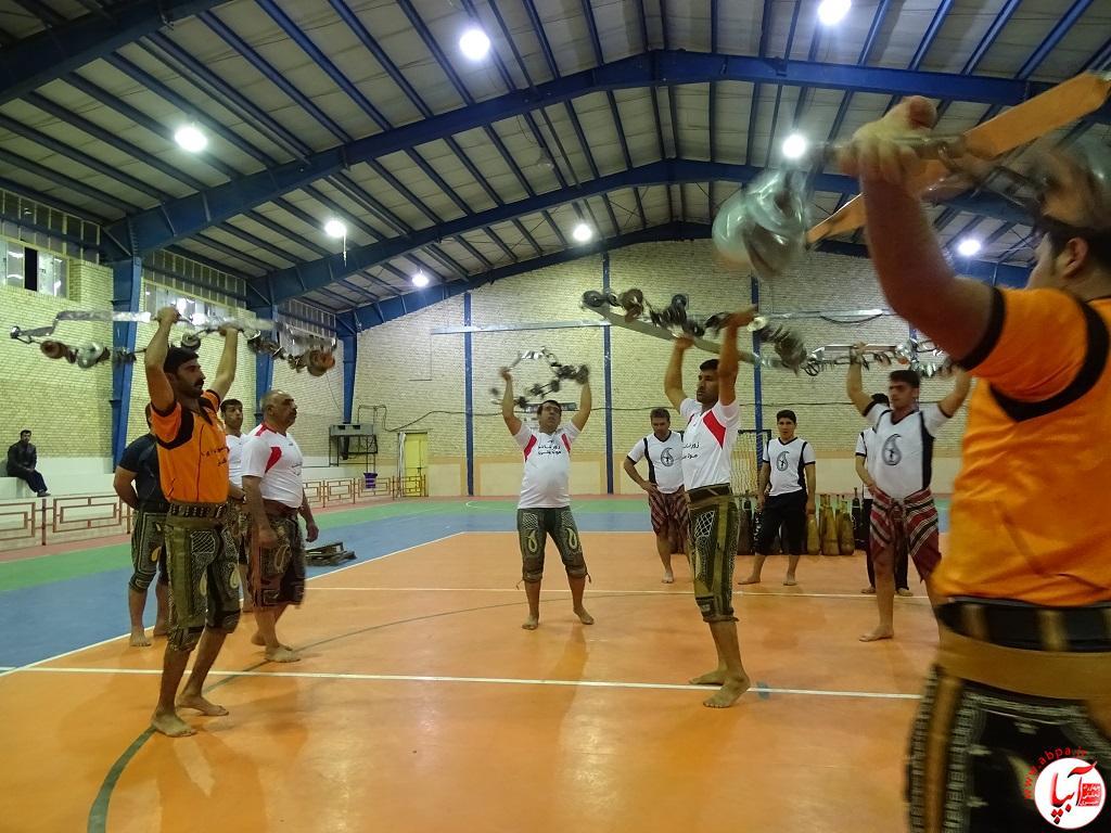 DSC07740 پیوند برادری فراشبندی ها و گراشی ها در ورزش باستانی