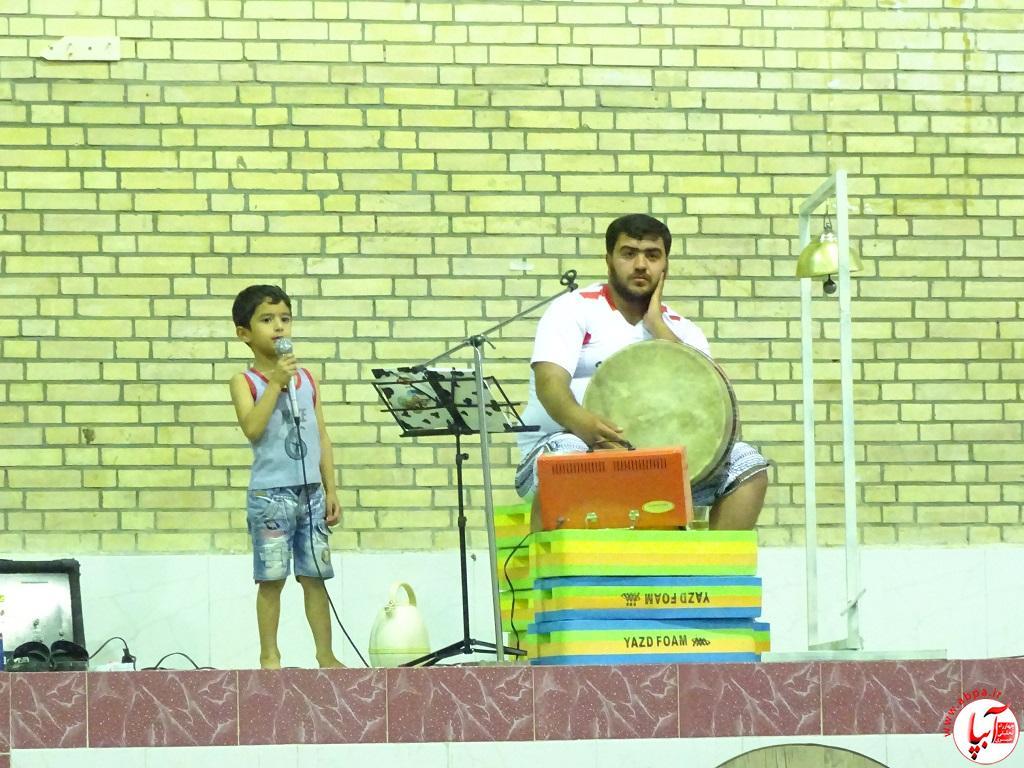 DSC07743 پیوند برادری فراشبندی ها و گراشی ها در ورزش باستانی