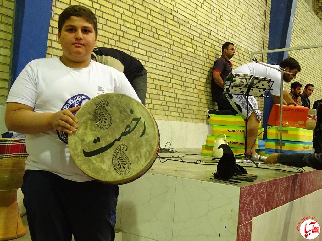 DSC07752 پیوند برادری فراشبندی ها و گراشی ها در ورزش باستانی